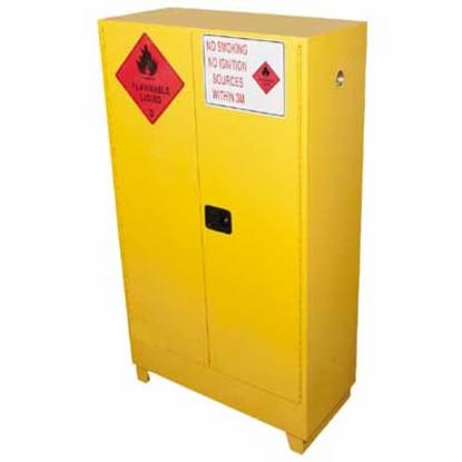 250-litre-flammable-liquid-storage-cabinet-2-doors-and-3-shelves